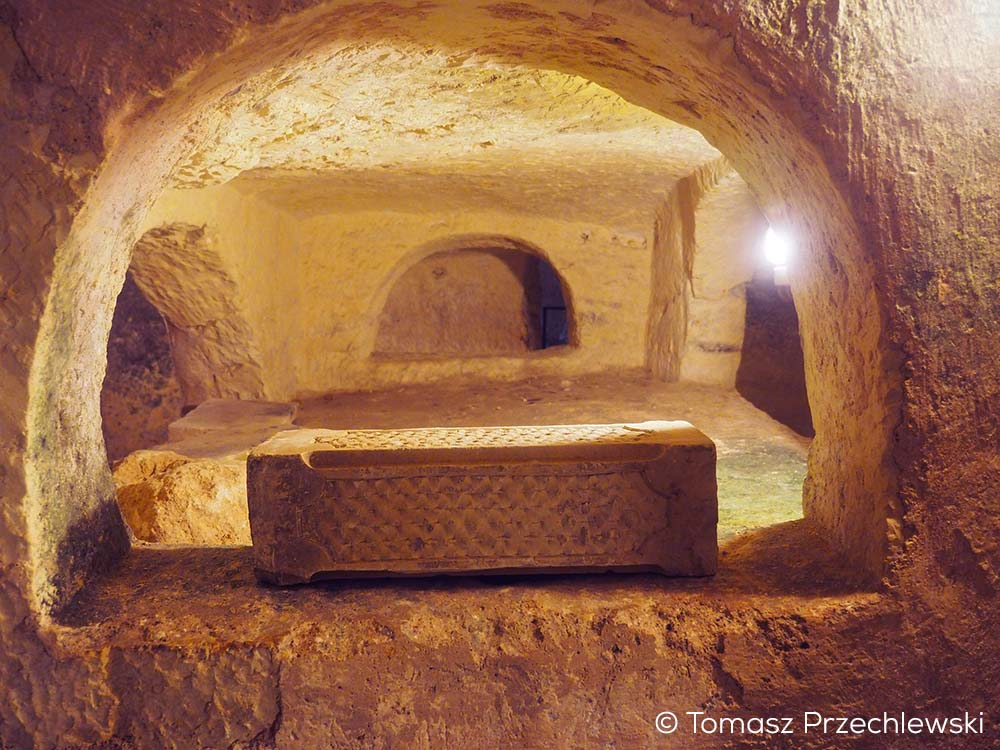 Inside the St. Paul's Catacombs